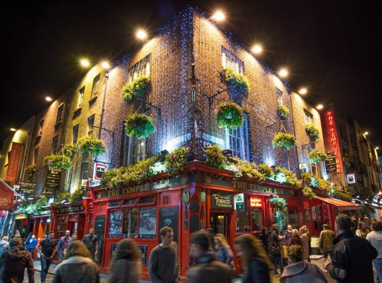 Die Temple Bar in Dublin