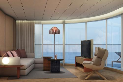 Panorama-Suite, Foto: TUI Cruises